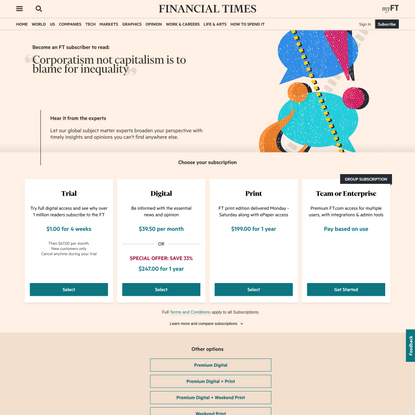 Subscribe to read   Financial Times