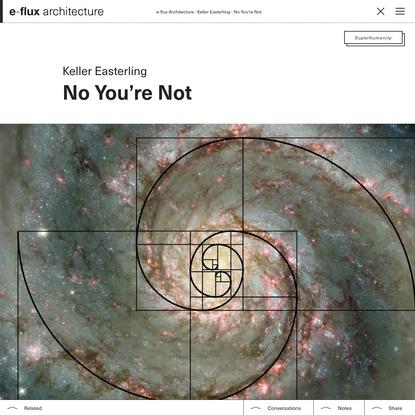 No You're Not - e-flux Architecture - e-flux