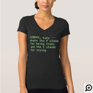 """PEMDAS, baby — where the P stands for being trans and the E stands for crying"" Jersey V-Neck T-Shirt"