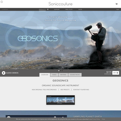 Geosonics ft. Chris Watson   Soniccouture