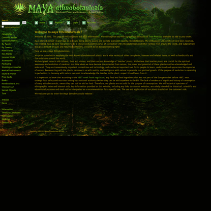 Home, Maya Ethnobotanicals.com