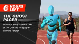 Ghost Pacer: Your Personal Holographic Workout Partner