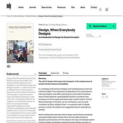 Design, When Everybody Designs