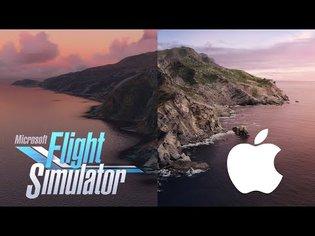Recreating macOS Wallpapers in Flight Simulator 2020