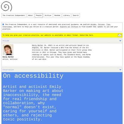 On accessibility