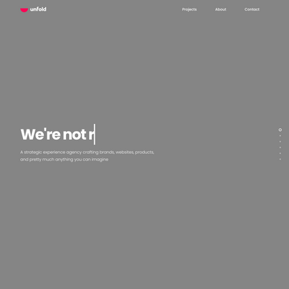 Unfold - Digital Design Agency