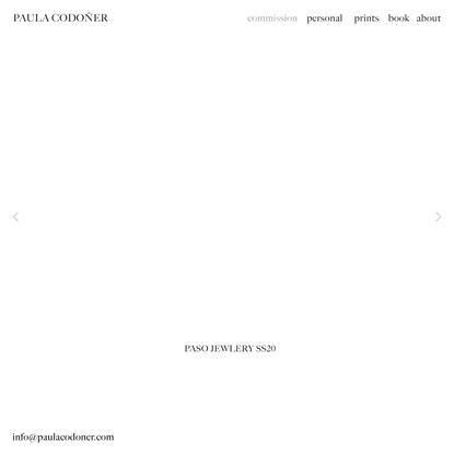 COMMISSIONS — Paula Codoner