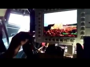 Turkish Troops Engage ISIS SVBIED with Remote Weapon System