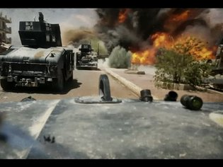 Iraq War 2016 - Iraqi Special Forces Intense Close Call With ISIS SVBIED During Combat In Fallujah
