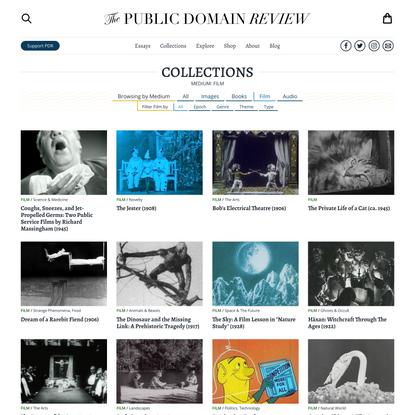 Medium: Film – Collections