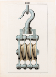 1880 Pulley Watercolour
