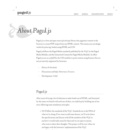 Paged.js — About Paged.js