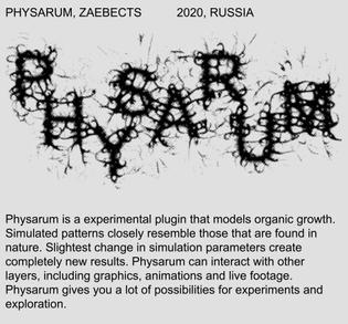 Physarum Plugin
