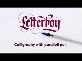 Panduro DIY - Parallell pen calligraphy