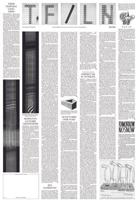 The sixth First/Last Newspaper