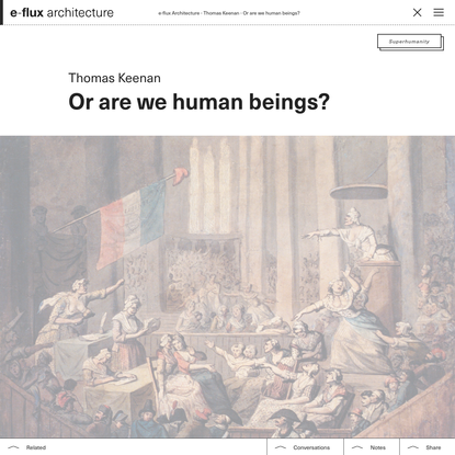 Or are we human beings?