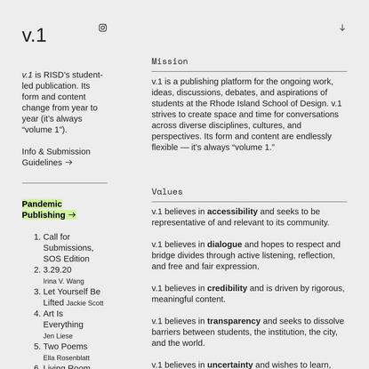 Info - V.1