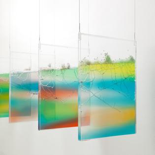 Exhibition view of Brad Troemel: LIVE/WORK, 2014. Tomorrow, New York.