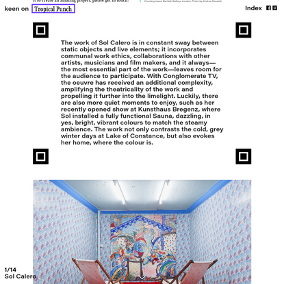 issue n°4 - keen on tropical punch. keen on magazine is the award-winning avantgarde art magazine, based in Vienna - Katheri...