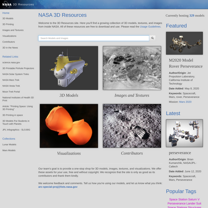 Home   3D Resources
