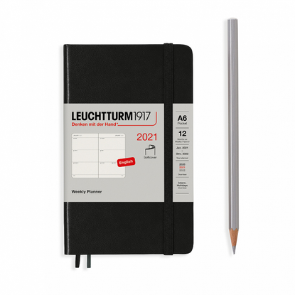 LEUCHTTURM1917 Weekly Planner – A6 Softcover