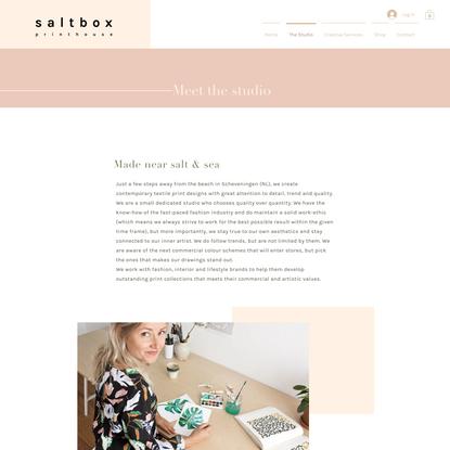 Saltbox Printhouse | Textile Design Studio | Artwork & Illustration