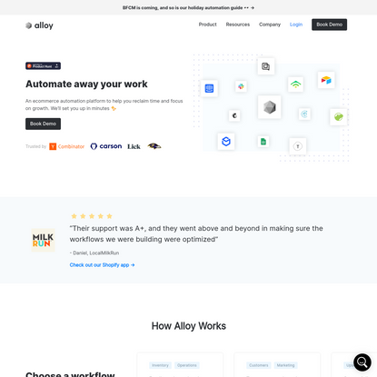 Alloy Automation - The Ecommerce Automation Platform That Saves You Time