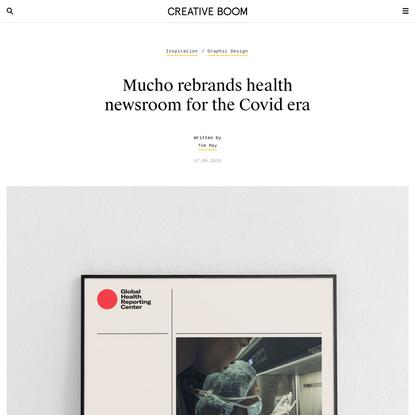 Mucho rebrands health newsroom for the Covid era