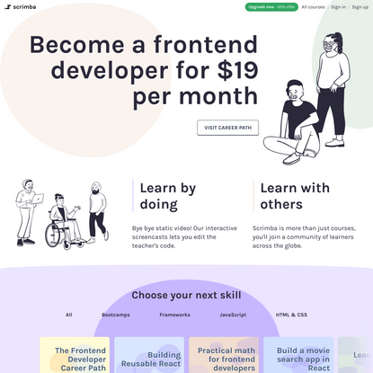 Learn to Code with Interactive Tutorials - Scrimba.com