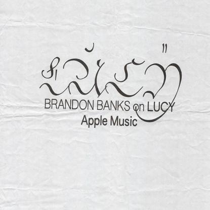 "Route on Instagram: ""@brandonxbanks talks 'LUCY' with @applemusic - link in bio. 🍎"""