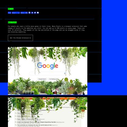 More Plants ➫ d0n.xyz