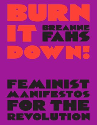 Burn it down - Feminist Manifestos for the Revolution by Breanne Fahs