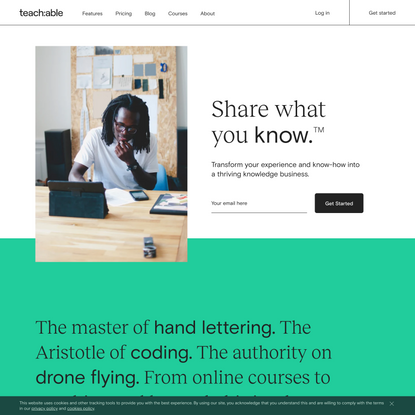 Teachable: Create and sell online courses and coaching