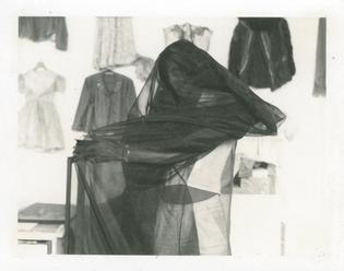 Ulay, Veil, from the series Renais sense, 1971