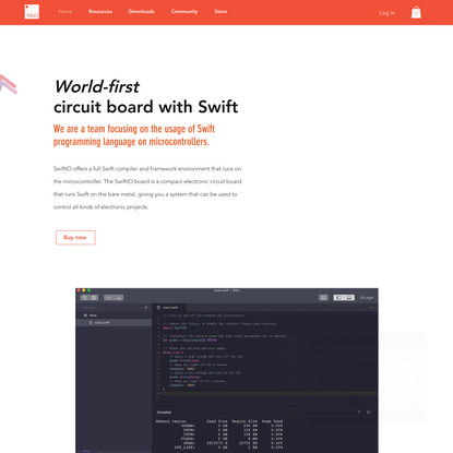 MadMachine - Swift for microcontrollers