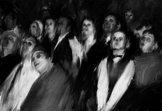 The audience by James Hoff