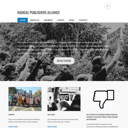 RADICAL PUBLISHERS ALLIANCE – Books To Change The System