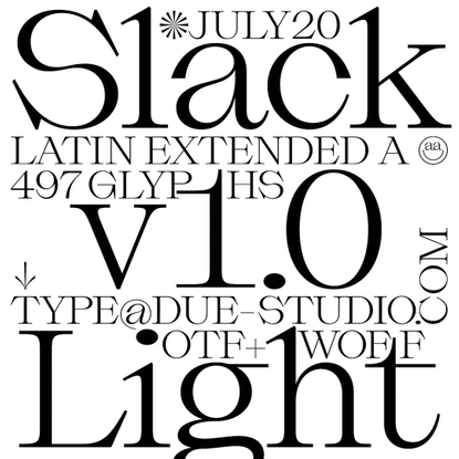 "Massimiliano Vitti on Instagram: ""News 📢 Slack Light is finally completed. It will be released on July 13, 2020. Stay tuned!..."