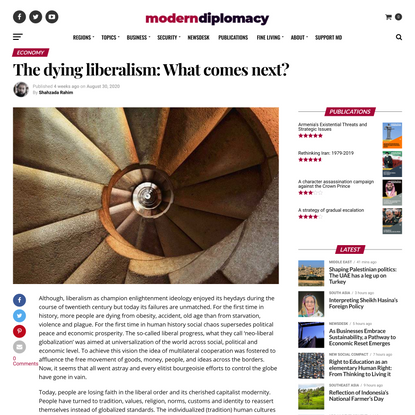 The dying liberalism: What comes next?