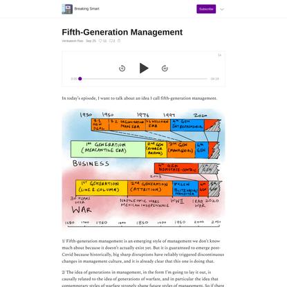 Fifth-Generation Management