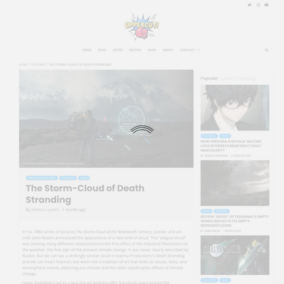 The Storm-Cloud of Death Stranding