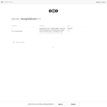 design2divest — Are.na
