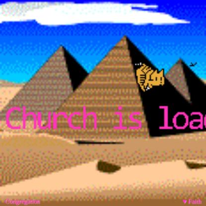 First Feline Church of the Internet