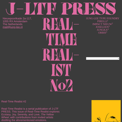Jung-Lee Type Foundry