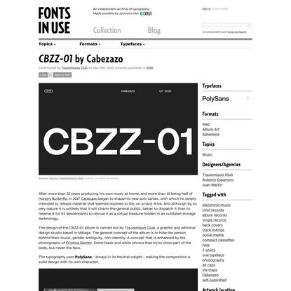 CBZZ-01 by Cabezazo