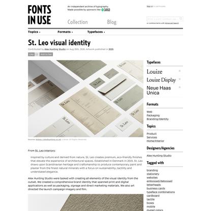 St. Leo visual identity