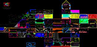 Jet Set Willy Screenshot Map