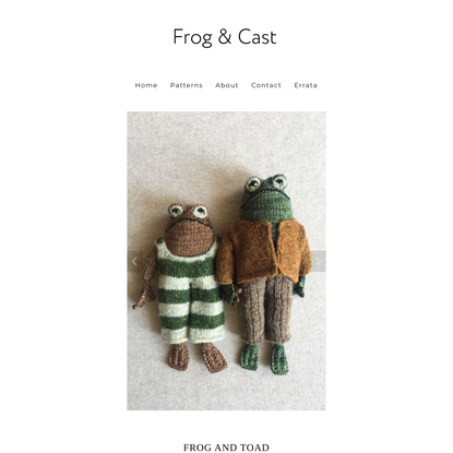 Frog and Toad Home — Frog & Cast