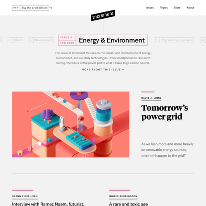 Increment: Energy & Environment