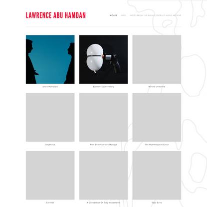 Lawrence Abu Hamdan